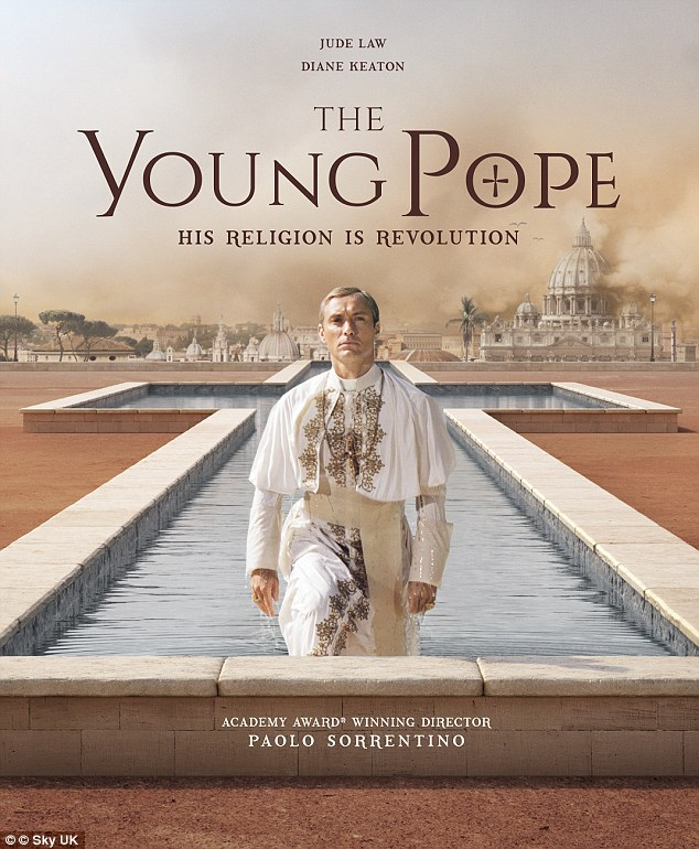 La serie de HBO The Young Pope es tan desconcertante como la vida misma