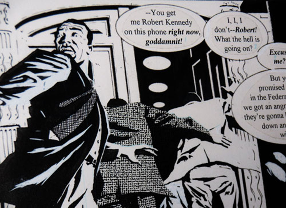 Martin Luther King: Luther King en comic