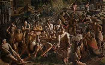 Cristo en Cookham (Stanley Spencer, 1952)