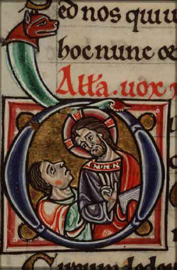 Cristo y un creyente (The Hague KB 76 F 13, 1180)