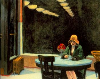 Dispensador (Edward Hopper, 1927)