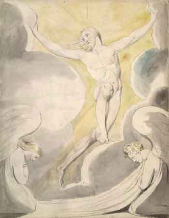 El triunfo cristiano (William Blake, 1797)