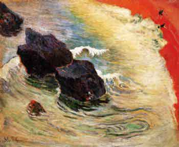 La Ola (Paul Gauguin, 1888)
