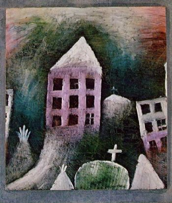 Lugar destruido (Paul Klee, 1920)