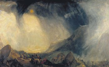 Tormenta de nieve (William Turner, 1842)